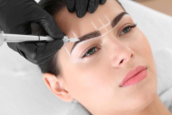 microblading, permament makeup, lip shading, powder eyebrows training